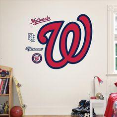 Washington Nationals W Logo-Fathead Decal | Set