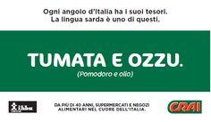 TUMATA E OZZU - pomodoro e olio - tomato and olive oil.