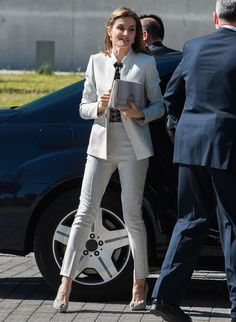 Queen Letizia visits the Research Institute of Food Science