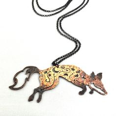 Midnight filigree fox