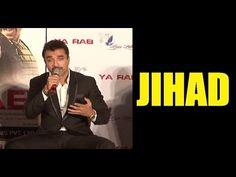 Ajaz Khan defines the word JIHAD.