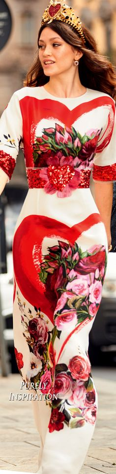 Dolce & Gabbana Sera 2018 Collection   Purely Inspiration