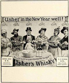 Ushers #whisky 1910 #nye