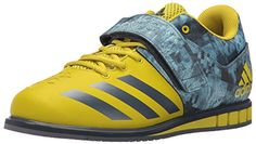 adidas Performance Men's Powerlift.3 Cross-Trainer Shoe, Unity Lime/Unity Blue/Unity Lime, 4.5 M US