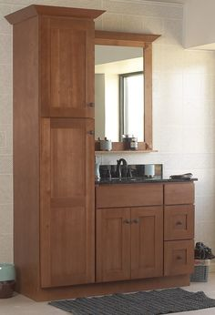 ThirdPatterson Linen cabinets for small spacesThird