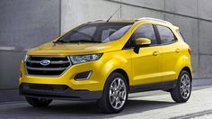 Photos of 2017 Ford EcoSport has been leaked on Internet. New Ford EcoSport will be launched in the last quarter of this year. Restyled exterior and more! Ford Ecosport, Car Ford, Ford Lincoln Mercury, Best New Cars, Latest Cars, Crossover, 2016 Cars, Cars 2017, Compare Cars
