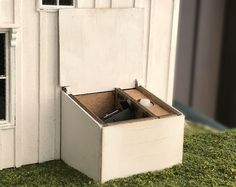 Hidden battery box kit with battery holder and battery Fireplace Kits, Tall Fireplace, Revolving Bookcase, Wood Bin, Tiny Furniture, Modern Bathtub, Outdoor Tables And Chairs, Stone Veneer, Peel And Stick Wallpaper