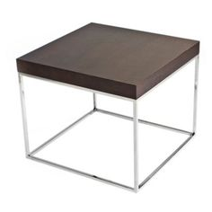 Check out this item at One Kings Lane! Fred Side Table, Espresso