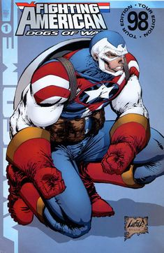 The Blatant Captain America rip off The Fighting American Comic Book Artists, Comic Book Characters, Comic Book Heroes, Marvel Characters, Comic Books Art, Comic Art, Arte Dc Comics, Marvel Comics Art, Anime Comics