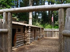 Ft. Clatsop, near Astoria, Oregon, Lewis and Clark National Historical Park