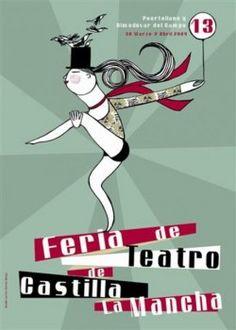 Cartel oficial de la XIII edición de la Feria de Teatro de Castilla-La Mancha (Foto: Gabinete Prensa Almodóvar del Campo)