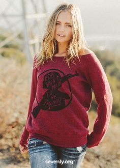 THIS SWEATER CHANGES LIVES. How? Learn more & shop generously HERE >>  http://www.sevenly.org/?cid=SEVPinterestSevenly