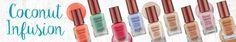 Barry M polish review :) #nails #nailpolish #acrylics #makeup #beauty #beautyblogger #beautyblog #fashionblogger #fashionblog #coconut #coconutwater #barrym #cosmetics #summer #coconutinfusion
