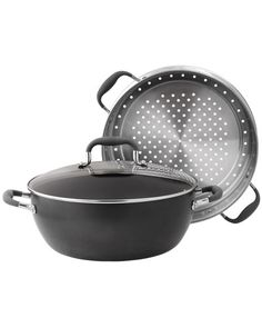 Anolon 3-Piece Ultimate Steamer Set