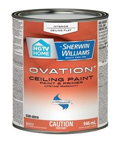HGTV HOME By Sherwin Williams Ovation Interior Latex Flat Ceiling Paint