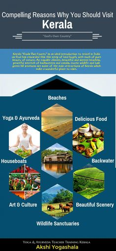 Compelling Reasons Why You Should Visit Kerala Infographic.. #stylefashionyoga #infographic #kerala #love #tourism #travel #ayurveda #friends #love #yogini #followers #fashion #twitter  # #