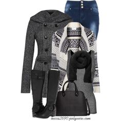"""Gloomy Winter Day"" by becca2690 on Polyvore"