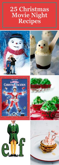 We've got the perfect pairings for all of your favorite Christmas movies, from savory snacks to delicious desserts. These Christmas recipes will bring a whole new level of holiday magic to your next movie night.                                                                                                                                                                                 More