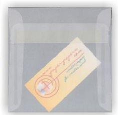 White Translucent (Vellum) - 5.5 in Square ENVELOPES - 250 PK