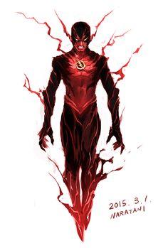 Reverse-Flash - by naratani   #comics #dc #reverseflash