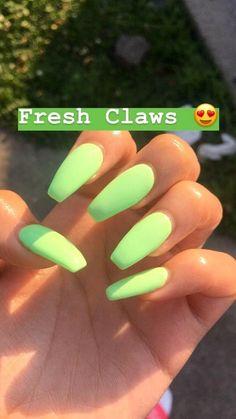 Nails Claws Grabber Dick Grabbers Mint Green Fresh Acrylic Beautiful a Nageldesign Summer Acrylic Nails, Best Acrylic Nails, Acrylic Nail Designs, Acrylic Nails Green, Summer Nails, Nail Ideas For Summer, Painted Acrylic Nails, Green Nail Art, Mint Nails