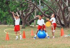 Educación Infantil  Ejercicio Físico para los Niños