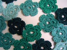 Jan-Knit's Free Patterns: Daisy-Chain Scarf