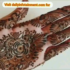 Get Unique Look with Awesome Styles Henna Tattoo Designs Arm, Mehndi Designs Book, Indian Mehndi Designs, Full Hand Mehndi Designs, Mehndi Designs For Beginners, Modern Mehndi Designs, Mehndi Design Pictures, Mehndi Designs For Girls, Mehndi Designs For Fingers