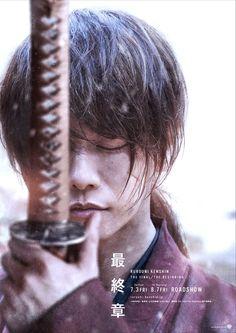 Teaser poster for Rurouni Kenshin: The Final/The Beginning One Ok Rock, Kaito, Samurai, Live Action Film, Action Movies, Saitama, The Beginning Movie, Rurouni Kenshin Movie, Kenshin Le Vagabond