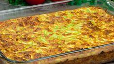 Familia mereu cere câte o porție suplimentară de budincă, fără să știe că este de dovlecei! - savuros.info Vegetable Recipes, Family Meals, Lasagna, Macaroni And Cheese, Zucchini, Food And Drink, Cooking Recipes, Nutrition, Bread
