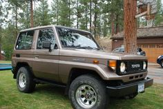 An all original 1985 Toyota Landcruiser. 12 Volt electrical system and 4 wheel drive. Land Cruiser 70 Series, Toyota Lc, 4x4 Trucks, Car Wheels, Manual Transmission, Toyota Land Cruiser, Offroad, Dream Cars, Jeep