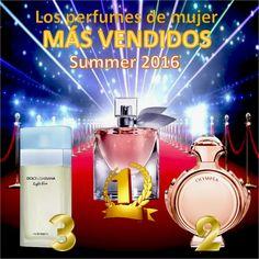Los #Perfumes de Mujer más Vendidos #Summer 2016 http://www.perfumeriaslaguna.com/perfumes-de-mujer
