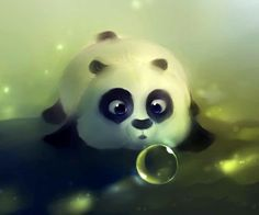 Omg Its So Cute Cartoon Panda Wallpaper Iphone