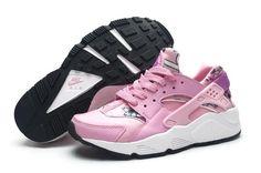 Spring Printing Floral Nike Air Huarache Pink Womens Shoes - Huarache