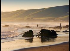 Conde Nast Traveler: The World's Most Gorgeous Secluded Beaches (PHOTOS); CAYUCOS STATE BEACH  Cayucos, California     California has no shortage of great beaches, but the protected state beach in Cayucos has successfully avoided over-development and remained a popular haven for surfers. Photo by David Buffington/Getty;