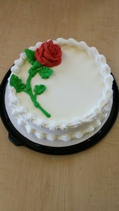 DQ Rose cake by Mandy