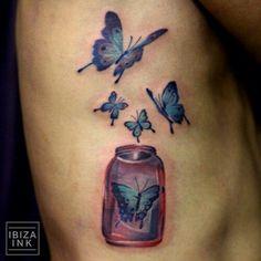 """""""Butterfly in the bill jar"""""""