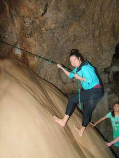 Spelunking in Sagada