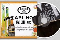 Hexapi Honey - honey is sweet . father loves the gift