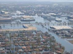 """Five Katrinas A Decade? Warming Projected To Boost Extreme Storm Surges Ten-Fold ... Scientist: """"With the global warming we have had during the 20th century, we have already crossed the threshold where more than half of all 'Katrinas' are due to global warming.""""    Photo: Katrina surge NOAA"""