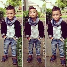 This Cool kids & boys mohawk haircut hairstyle ideas 35 image is part from 60 Awesome Cool Kids and Boys Mohawk Haircut Ideas gallery and article, click read it bellow to see high resolutions quality image and another awesome image ideas. Fashion Kids, Toddler Boy Fashion, Little Boy Fashion, Toddler Boys, Kids Boys, Baby Kids, Kids Style Boys, Step Children, Girl Fashion