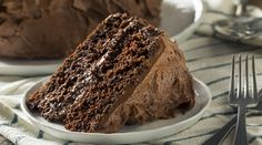 Super dark and rich with perfect moistness, this cake is our new chocolate fix favorite. The ganache, located comewhere between pourable and whipped, will have your guests coming back for a second slice-we certainly did! Chocolate Filling For Cake, Chocolate Fit, Hershey Chocolate Cakes, Chocolate Buttercream Icing, Famous Chocolate, Chocolate Bundt Cake, Vegan Keto Recipes, Chef Recipes, Baking Recipes