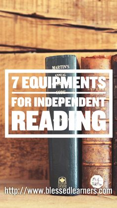 What do you need to make reading activities more engaging? Here are 7 equipment for independent reading activity.