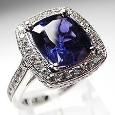Love the depth of blue this sapphire is