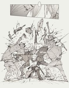 Artstation - akira miyagawa face inspirations in 2019 character design Art Poses, Drawing Poses, Manga Drawing, Figure Drawing, Manga Art, Drawing Tips, Drawing Ideas, Art Reference Poses, Drawing Reference