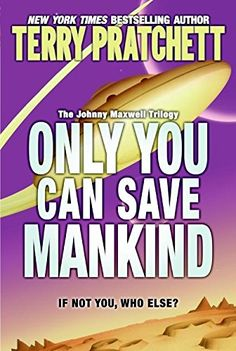 Only You Can Save Mankind (Johnny Maxwell Trilogy) by Ter... https://www.amazon.com/dp/0060541873/ref=cm_sw_r_pi_dp_x_oEwqzb3A5Z26X