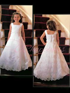 We have communion dresses in various styles, and many different colors for you to choose from.