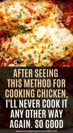 After Seeing This Method For Cooking Chicken, I'll Never Cook It Any Other Way Again. So Good After seeing this method of cooking chicken, I will never cook it differently again. Real Food Recipes, Diet Recipes, Chicken Recipes, Cooking Recipes, Cooking Tips, Healthy Tips, Healthy Eating, Healthy Recipes, Healthy Food