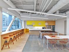 """Fullscreen, a Los Angeles-based media startup that empowers popular YouTube channels and networks, recently decided to move into a new headquarters designed by Rapt Studio. """"For purpose of design, a ... Read More"""