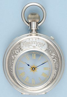 Antique Pocket Watches - Silver Mystery Watch - Vintage Pocketwatches from Pieces of Time